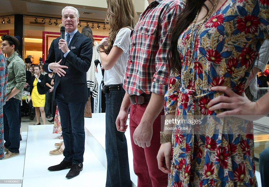 Tim Gunn At The Burlington Mall : News Photo