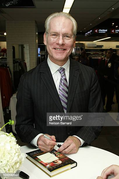 Tim Gunn cohost of Project Runway and Chief Creative Officer of Liz Claiborne Inc unveils JCPenney's Liz Claiborne Exclusive Collection at JCPenney...
