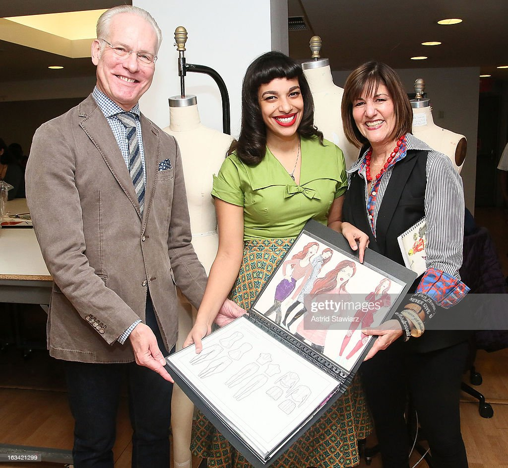 Tim Gunn & Kay Unger Visit The Parsons Scholar Program