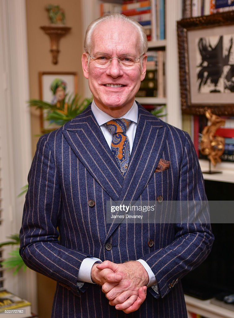 Tim Gunn Hosts Fencing In The Schools Private Reception