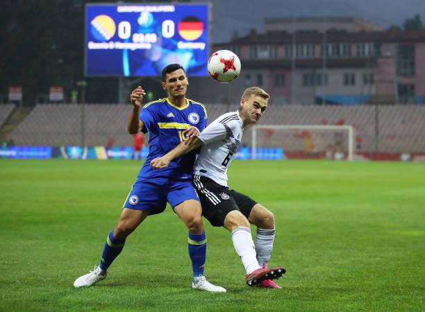 BIH: Bosnia and Herzegovina U21 v Germany U21 - UEFA U21 Championship Qualifying Round