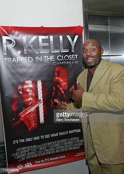 Tim Hardaway during R Kelly's 'Trapped in the Closet Chapters 15' Premiere and Release Party at Esquire Theater in Chicago Illinois United States