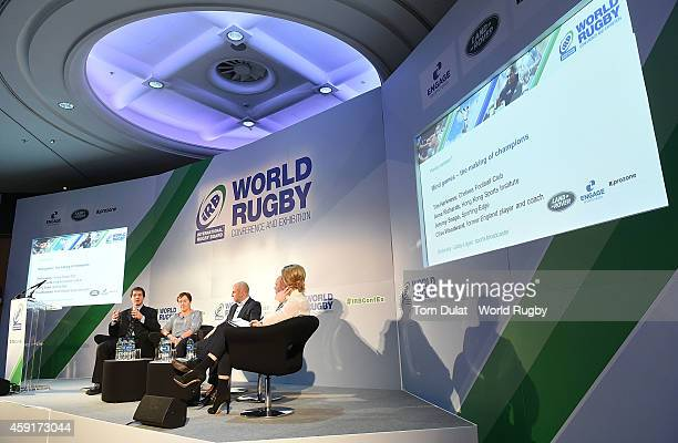 Tim Harkness of Chelsea Football Club Anna Richards of Hong Kong Sports Institute Jeremy Snape of Sporting Edge former England Coach Clive Woodward...