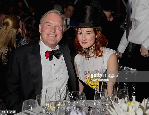 Tim Headington and Taylor Tomasi Hill attend TWO x TWO For AIDS and Art 2016 on October 22 2016 in Dallas Texas