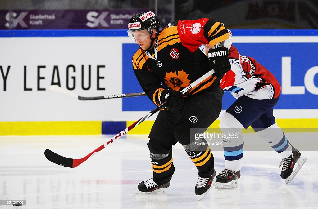 4 Tim Heed Of Skelleftea Aik During The Champions Hockey League Group Foto Di Attualità Getty Images