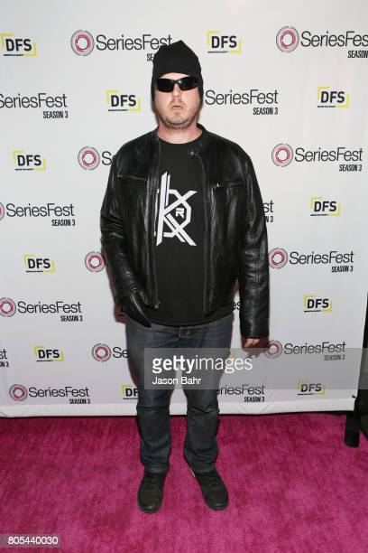 Tim Heidecker arrives to Adult Swim's Decker Season 5 Finale during SeriesFest Season 3 at Sie FilmCenter on July 1 2017 in Denver Colorado