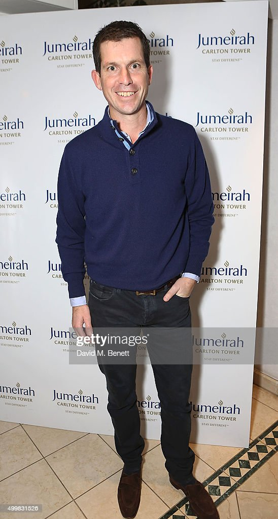 Tim Henman at the Champions Tennis players' party at Jumeirah Carlton Tower on December 3, 2015 in London, England.