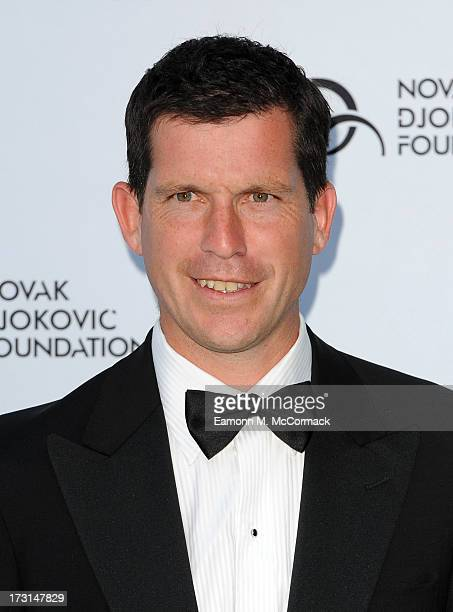 Tim Henman attends the Novak Djokovic Foundation London gala dinner at The Roundhouse on July 8 2013 in London England