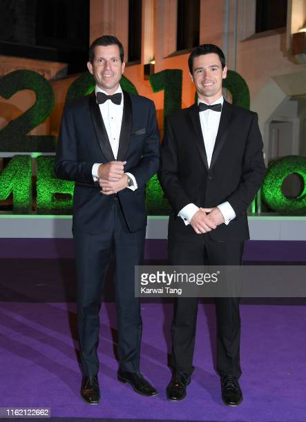 Tim Henman attends the Wimbledon Champions Dinner at The Guildhall on July 14 2019 in London England