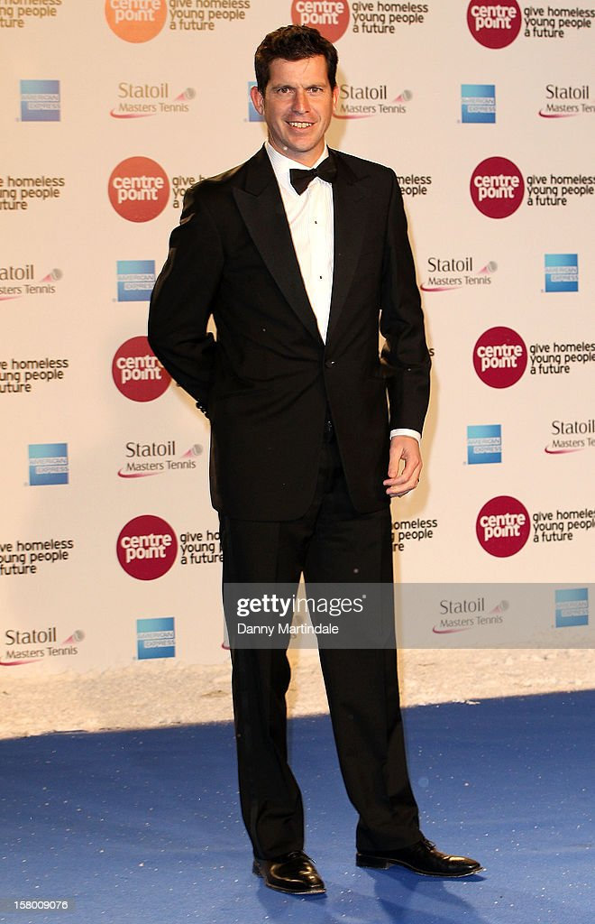 Tim Henman attends the Winter Whites Gala at Royal Albert Hall on December 8, 2012 in London, England.
