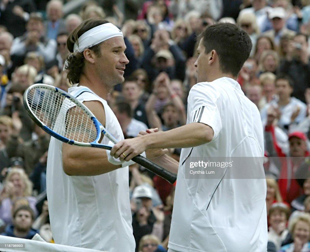 2007 Wimbledon Championships - Men's Singles - First Round - Carlos Moya vs Tim Henman