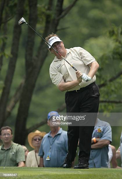 Tim Herron during the second round of the Memorial Tournament Presented by Morgan Stanley held at Muirfield Village Golf Club in Dublin, Ohio, on...