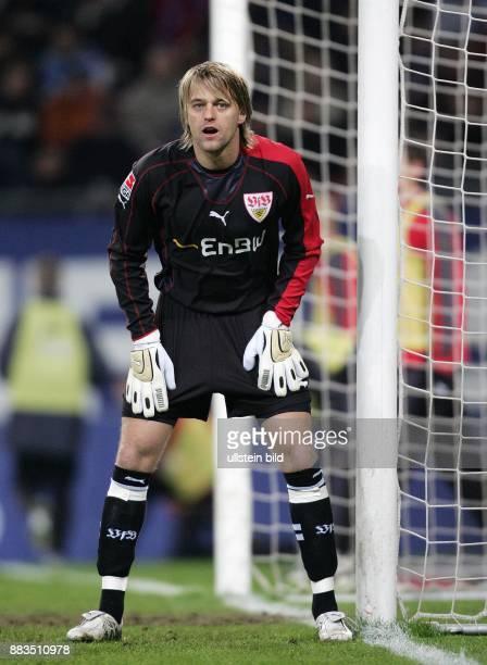Tim Hildebrand Torhüter VfB Stuttgart D steht im Tor
