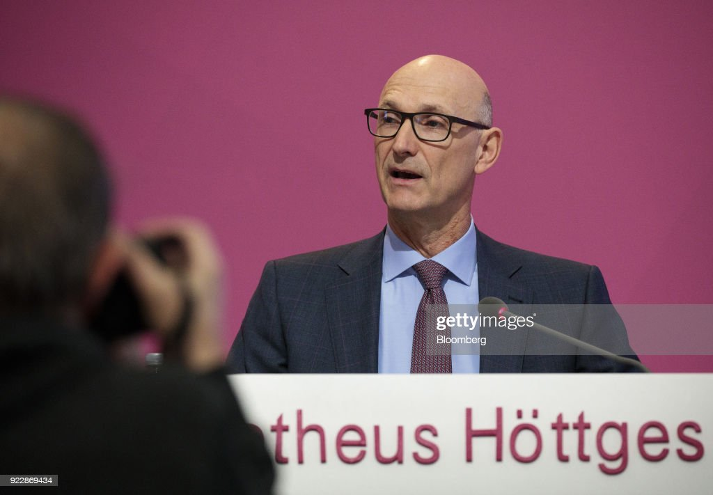 Deutsche Telekom AG Chief Executive Officer Timotheus Hoettges Announces Full Year Results