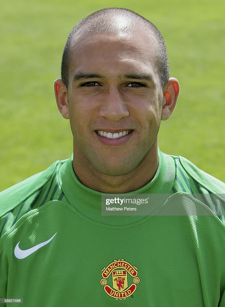 Tim Howard of Manchester United poses during the annual club photocall at Carrington Training Ground on 5 August 2005 in Manchester, England.