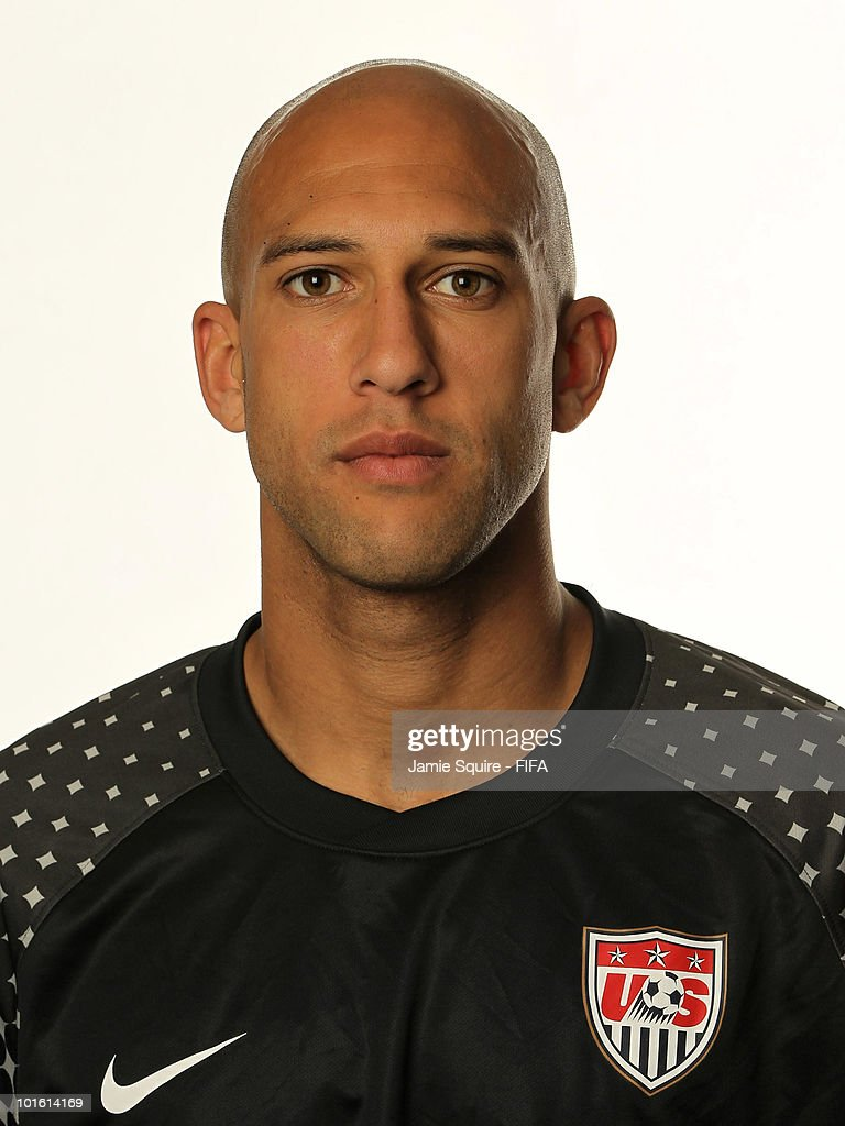Tim Howard of USA poses during the official FIFA World Cup 2010 portrait session on June 3, 2010 in Centurion, South Africa.