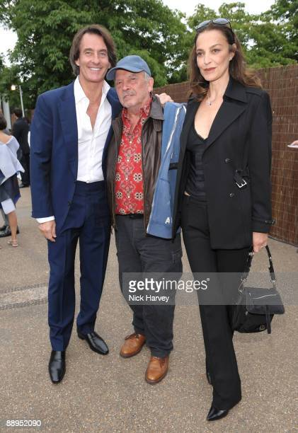 Tim Jeffries David Bailey and his wife Catherine attend the annual Summer Party at the Serpentine Gallery on July 9 2009 in London England