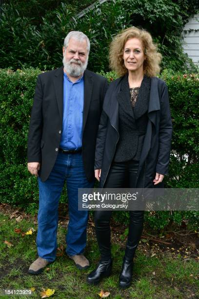 Tim Jenison and Farley Ziegler attend the 21st Annual Hamptons International Film Festival on October 11, 2013 in East Hampton, New York.