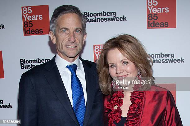 Tim Jessell and Renee Fleming attend the Bloomberg Businessweek's 85th Anniversary Celebration at the American Museum of Natural History in New York...