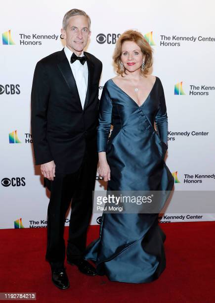 Tim Jessell and Renee Flemming attend the 42nd Annual Kennedy Center Honors at Kennedy Center Hall of States on December 08 2019 in Washington DC