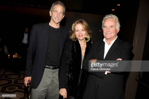 Tim Jessell Renee Fleming and Richard Eyre attend Screening of THE OTHER MAN at Tribeca Grand Hotel on September 11 2009 in New York City