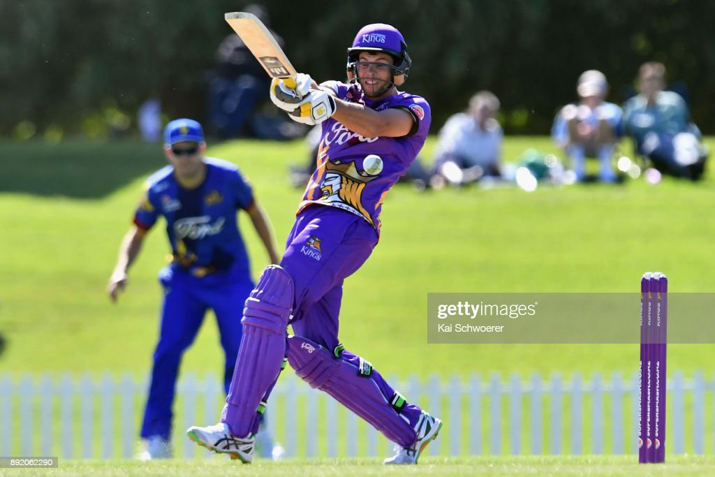 Supersmash T20 - Canterbury Kings v Otago Volts
