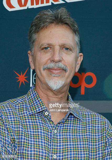 Tim Kring attends the Freedom's Beyond press conference during the 2016 New York Comic Con day 2 on October 7 2016 in New York City