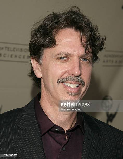 Tim Kring during The Academy of Television Arts and Sciences Presents An Evening with Heroes Red Carpet at Leonard H Goldenson Theatre in North...