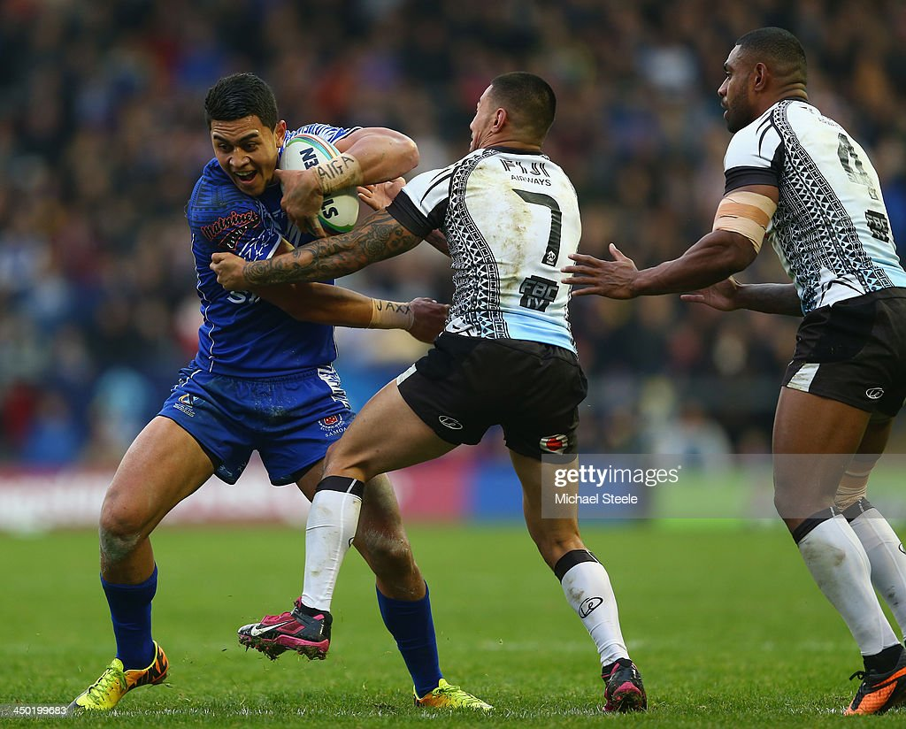 Samoa v Fiji - Rugby League World Cup Quarter Final