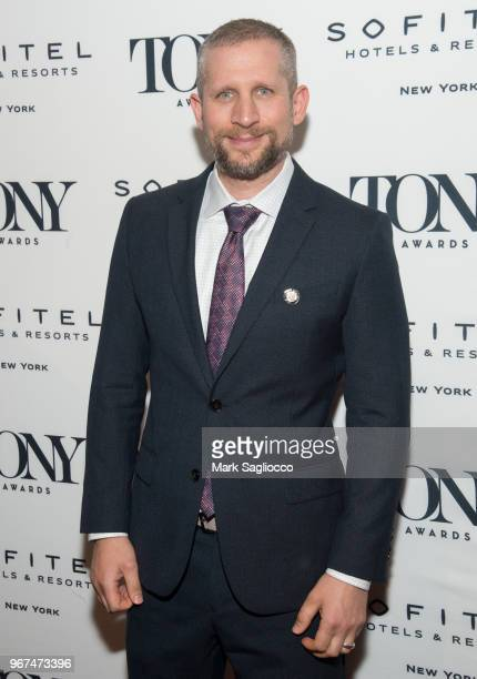 Tim Levy attends the 2018 Tony Honors For Excellence In The Theatre and 2018 Special Award Recipients Cocktail Party at the Sofitel Hotel on June 4...