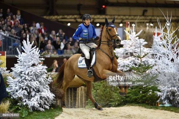 Tim Lips of Netherlands riding Brent during the Cross Indoor sponsored by Tribune de Genève Rolex Grand Slam Geneva 2017