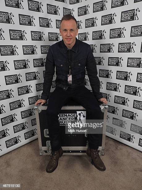Tim Lovejoy at Teenage Cancer Trust 15th Anniversary Year Concerts at Royal Albert Hall on March 25 2015 in London England