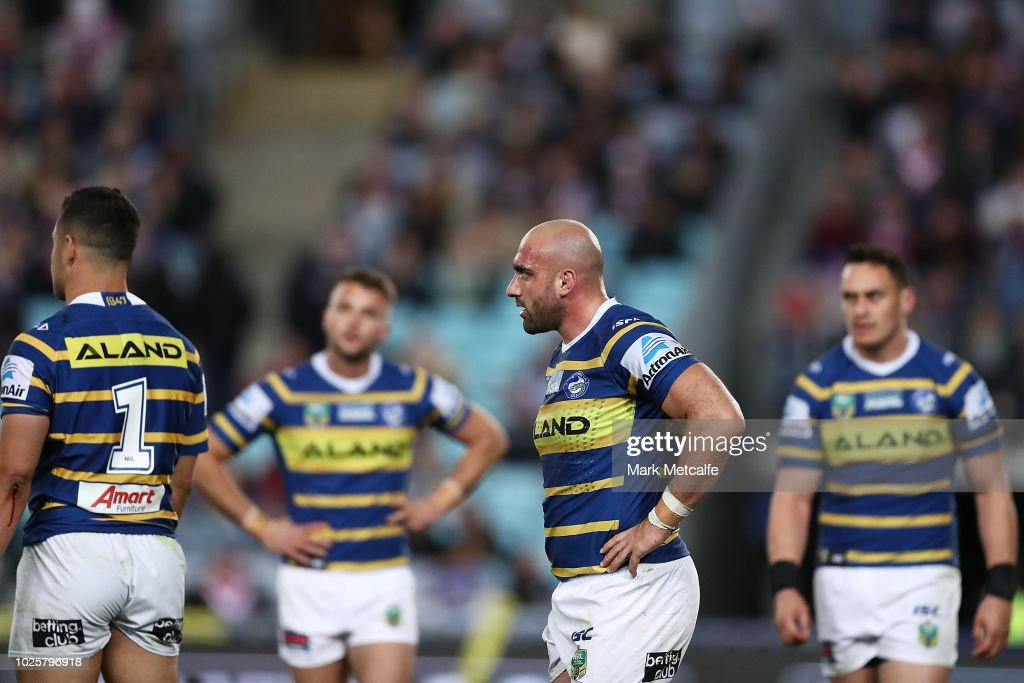 NRL Rd 25 - Eels v Roosters : News Photo