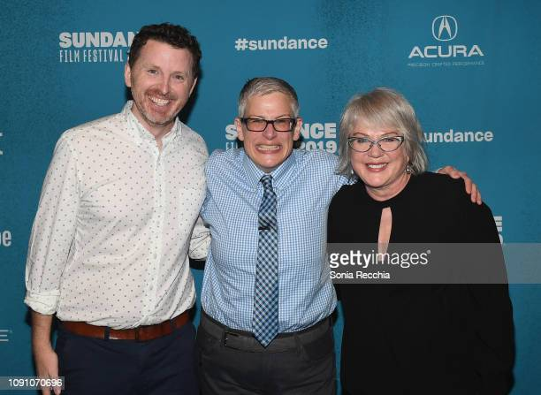 Tim Mason Abby McEnany and Julia Sweeney attend the Indie Episodic Program 2 during the 2019 Sundance Film Festival at Prospector Square Theatre on...