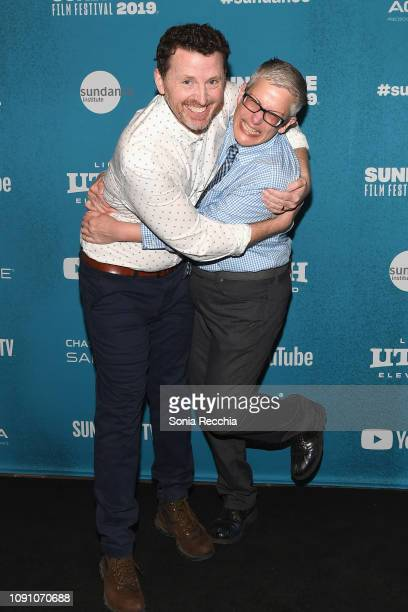 Tim Mason and Abby McEnany attend the Indie Episodic Program 2 during the 2019 Sundance Film Festival at Prospector Square Theatre on January 29 2019...