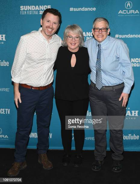 Tim Mason Julia Sweeney and Abby McEnany attend the Indie Episodic Program 2 during the 2019 Sundance Film Festival at Prospector Square Theatre on...