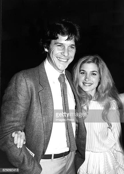 Tim Matheson and Blanche Baker circa 1981 in New York City