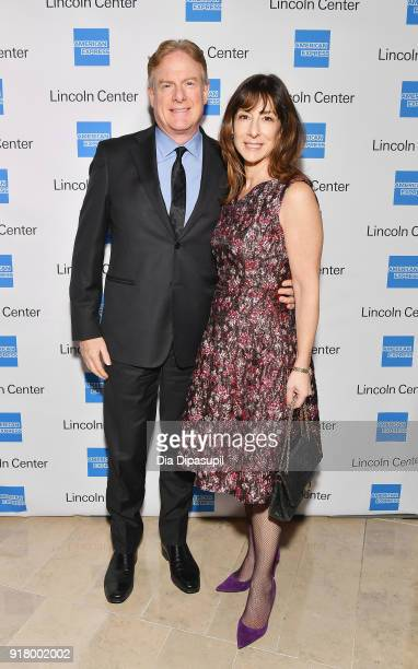 Tim McClimon and Suzanne Berman attends the Winter Gala at Lincoln Center at Alice Tully Hall on February 13 2018 in New York City