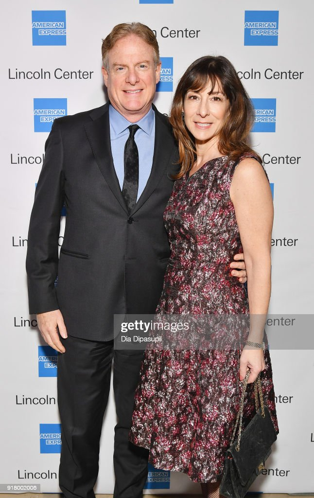 Tim McClimon (L) and Suzanne Berman attends the Winter Gala at Lincoln Center at Alice Tully Hall on February 13, 2018 in New York City.
