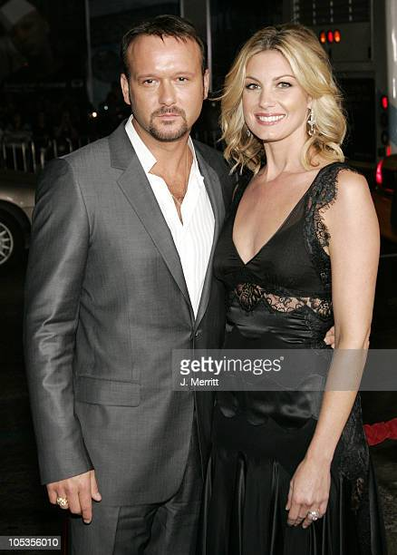 """Tim McGraw and Faith Hill during """"Friday Night Lights"""" - World Premiere at Grauman's Chinese Theatre in Hollywood, California, United States."""