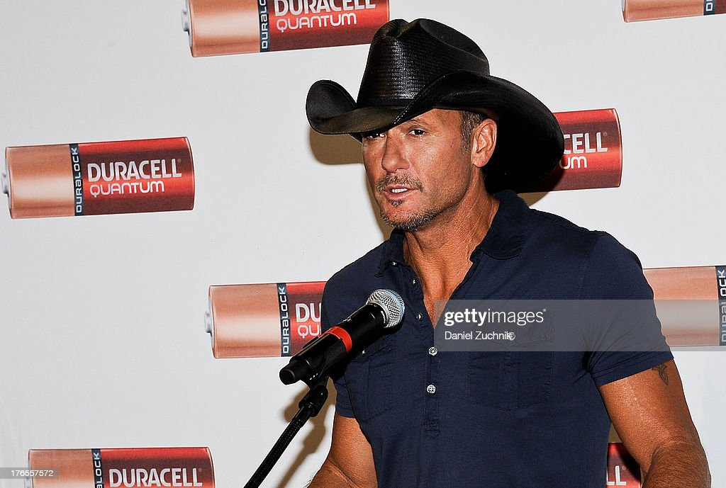 Tim McGraw attends the 'Quantum Heroes' premiere at Engine 33, Ladder 9 on August 15, 2013 in New York City.