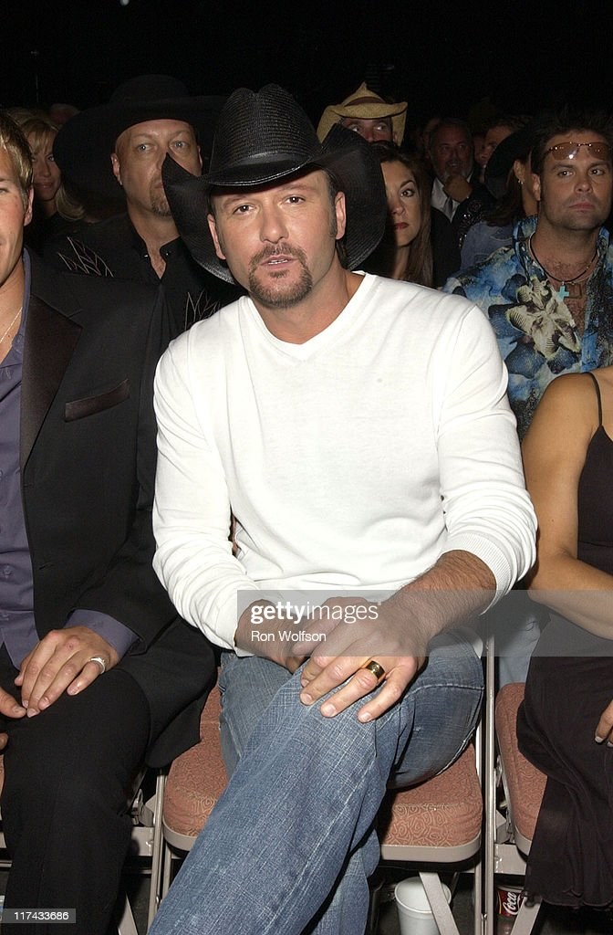 Tim McGraw during 39th Annual Academy of Country Music Awards - Backstage and Audience at Mandalay Bay Resort and Casino in Las Vegas, Nevada, United States.