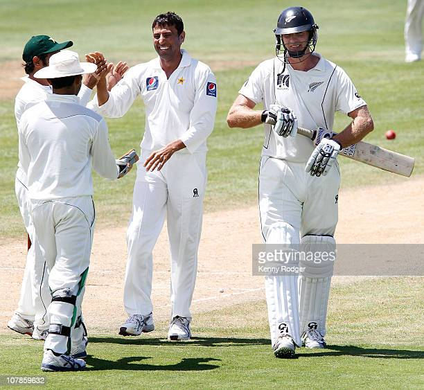 New zealand invitation xi stock photos and pictures getty images new zealand invitation xi vs pakistan day 3 stopboris Image collections