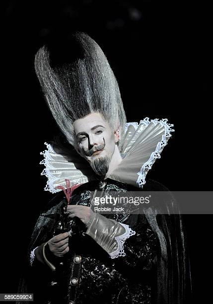 Tim Mead as Oberon in Glyndebourne's production of Benjamin Britten's A Midsummer Night's Dream directed by Lynne Hockney after Peter Hall and...