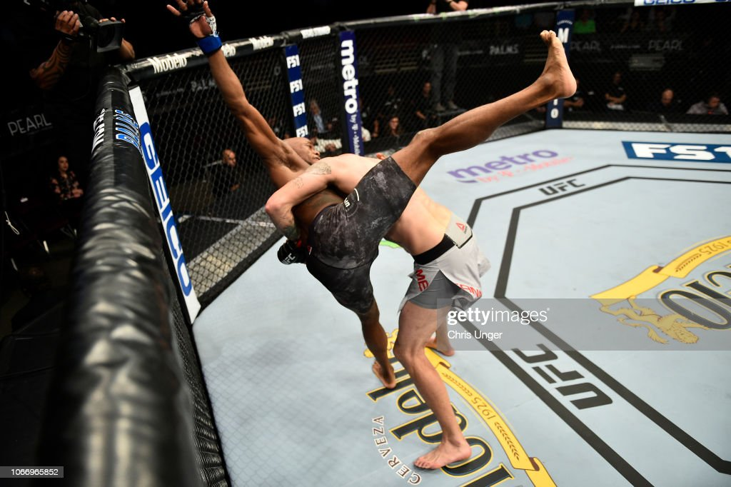 The Ultimate Fighter Finale: Means v Rainey : News Photo