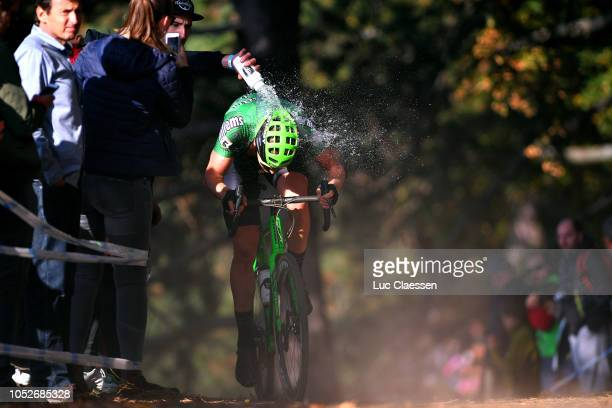 Tim Merlier of Belgium and Team Crelan- Charles / Water / Public / during the 1st Cyclocross Bern World Cup 2018 - Men Elite / WC / on October 21,...