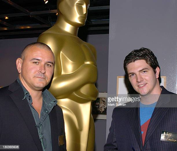 Tim Miller executive producer of 'Gopher Broke' and Jeff Fowler director of 'Gopher Broke'