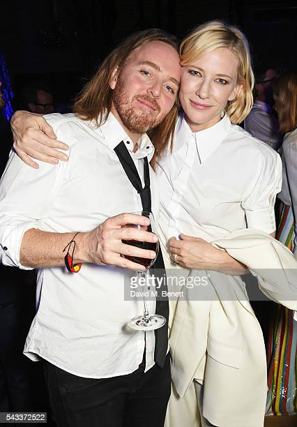 Tim Minchin and Cate Blanchett attend the Summer Gala for The Old Vic at The Brewery on June 27 2016 in London England