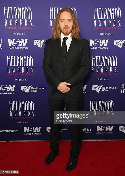 Tim Minchin arrives ahead of the 16th Annual Helpmann Awards at Lyric Theatre, Star City on July 25, 2016 in Sydney, Australia.