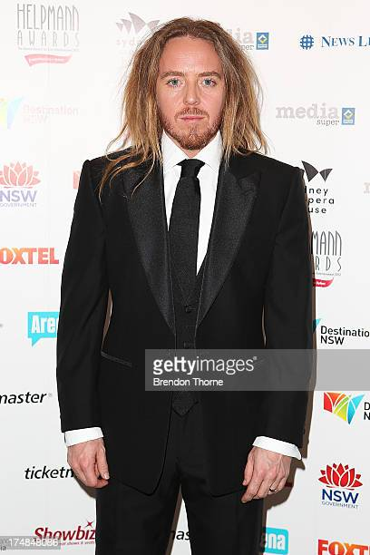 Tim Minchin arrives at the 2013 Helpmann Awards at the Sydney Opera House on July 29 2013 in Sydney Australia